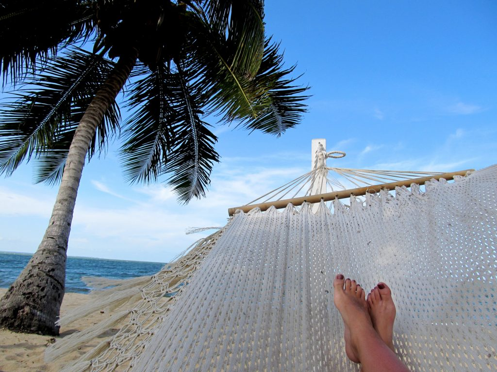 """Relaxing in a hammock in Belize"" via Jessie Harnell on Flickr, Creative Commons licensed"