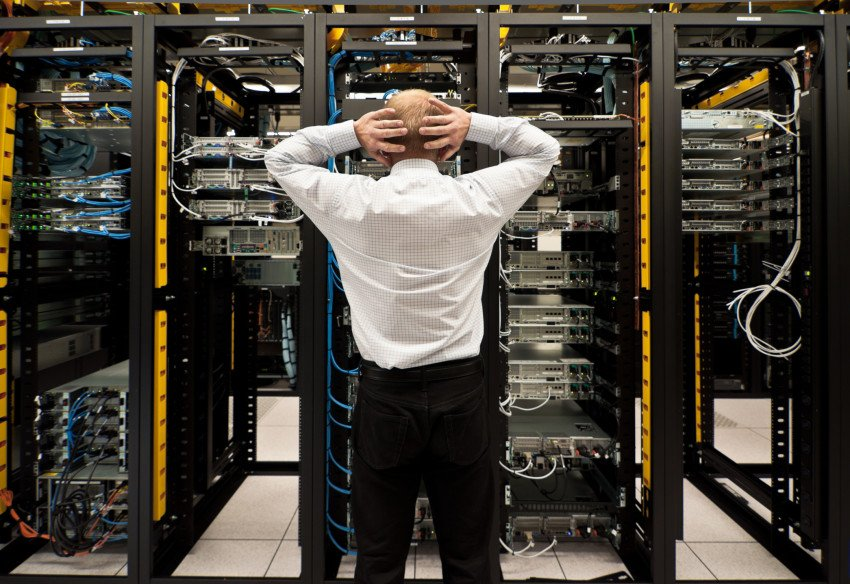 """Trouble in Data Center"", via AKodisinghe, ThinkStock."