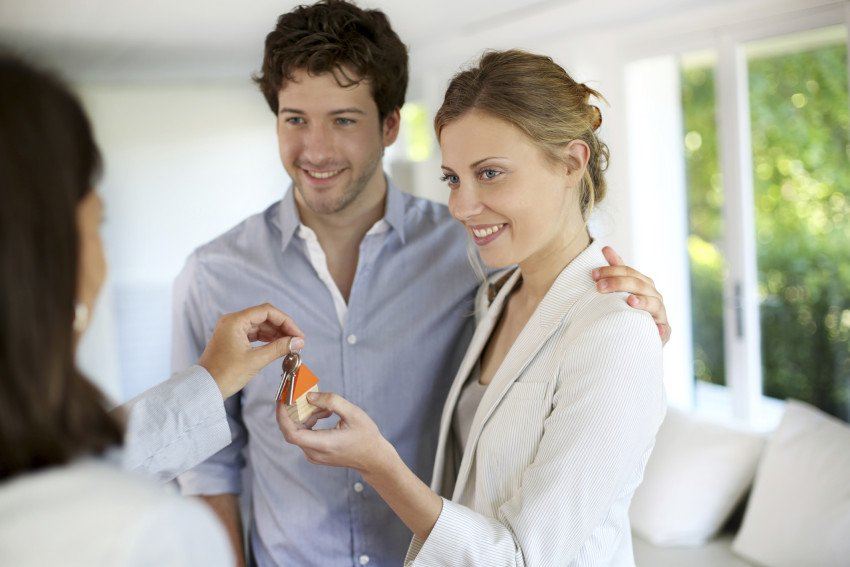 """Young Couple Being House Owners"" via Goodluz on ThinkStock."