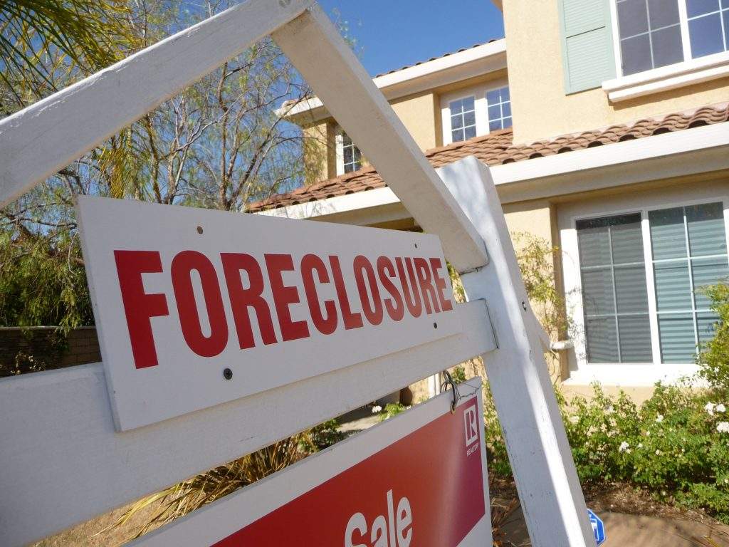 """Sign of the Times - Foreclosure"" via Jeffrey Turner on Flickr, Creative Commons licensed"