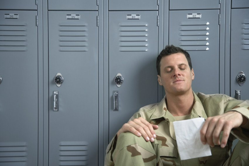"""Soldier Reading Letter From Home"", via Fuse, ThinkStock."