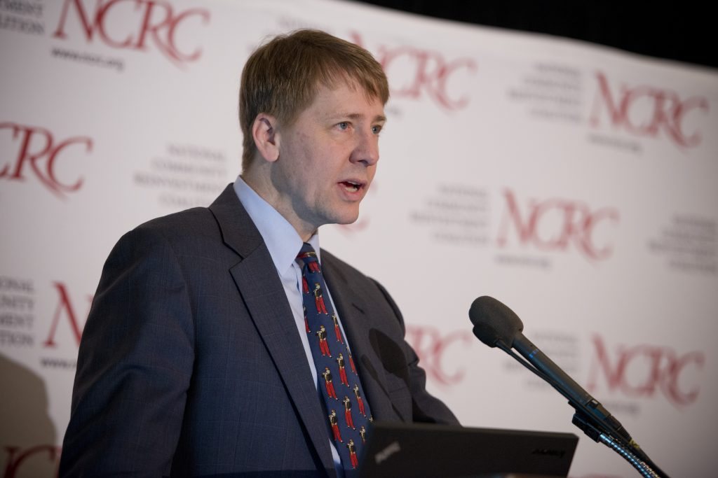 Richard Cordray via NCRC on Flickr, Creative Commons licensed