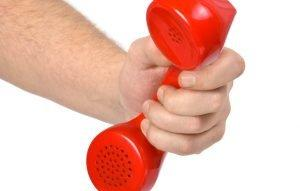 hand telephone article size