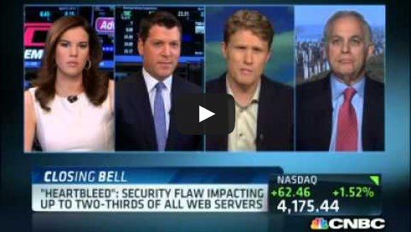 CNBC on the Heartbleed SSL Flaw