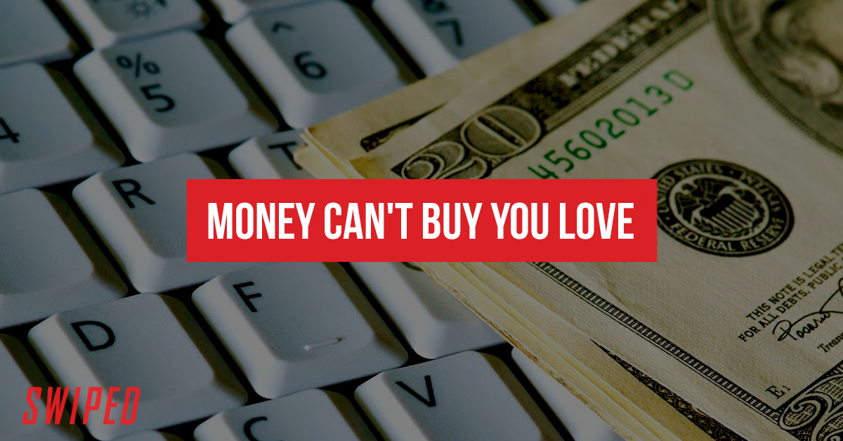 Catphishing Story #6 Money Can't Buy You Love